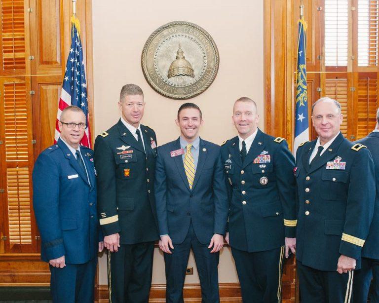 Military Issue for Veteran David Clark